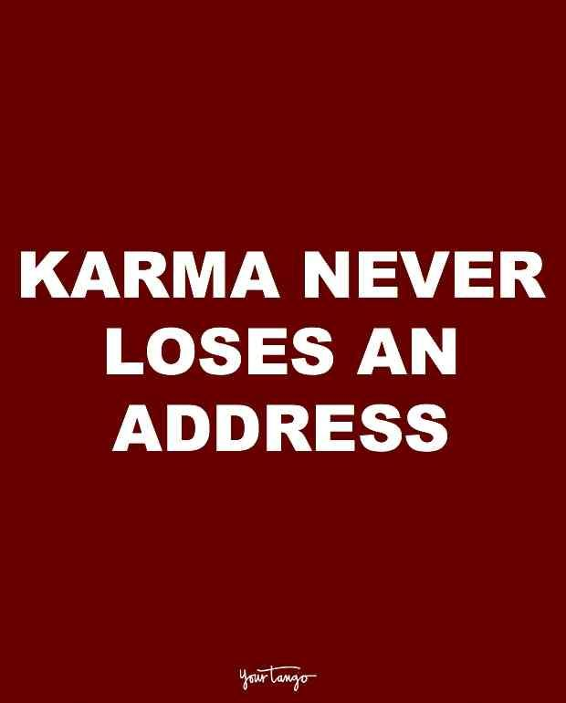 10 Karma Quotes For Cheaters And The People Who Want Them