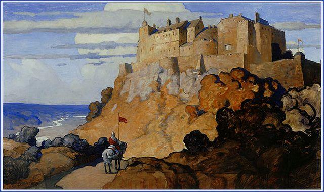 """""""The Scottish Chiefs"""" 1921 by N.C. Wyeth"""