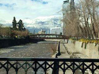 Santiago de Chile con su hermosa Cordillera.