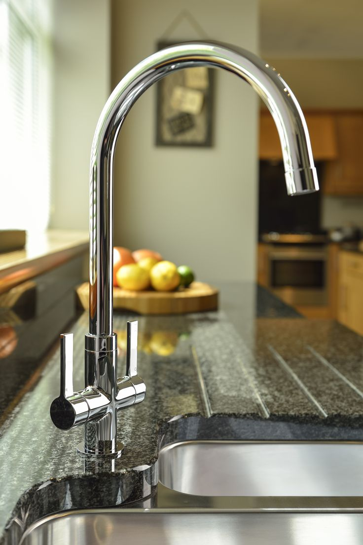 The Pico tap is an elegantly styled monobloc, featuring a simple yet stunning handle design to compliment the overall look. Shown here in a stunning chrome finish.