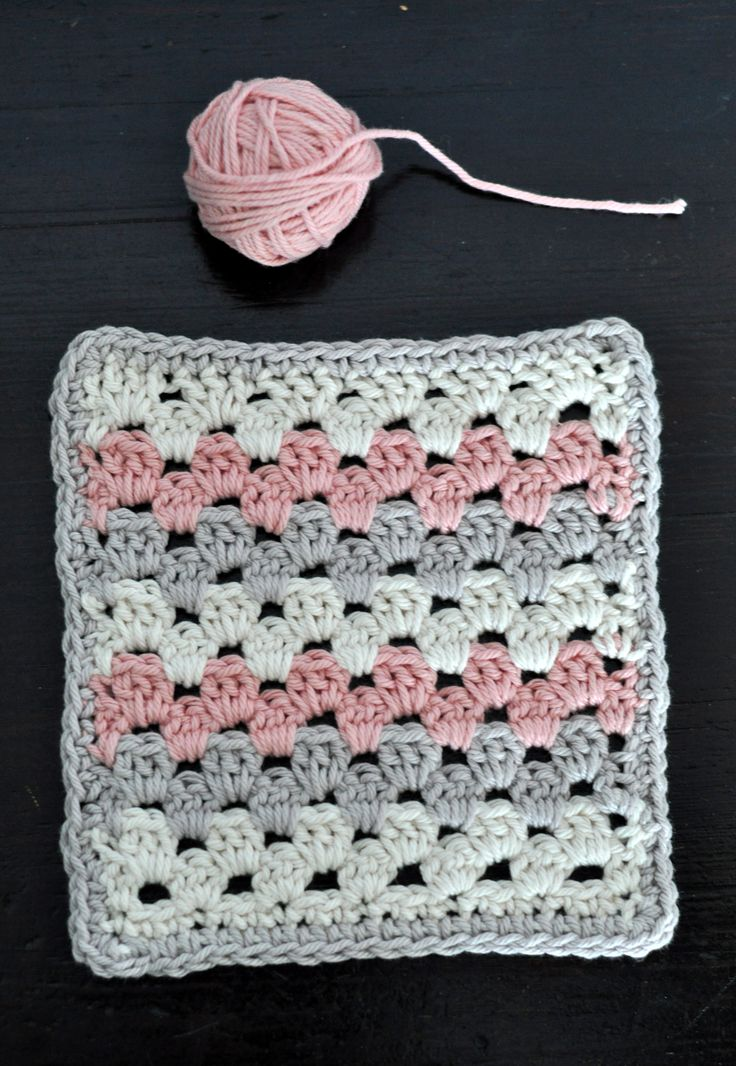 In this part, we teach you how to crochet granny stripes!