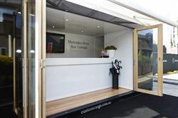 Registration container office for Mercedes-Benz Australia #CustomCargo