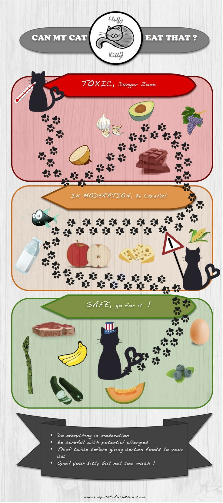 Food Infographic If You Want To Feed Your Cat With Leftovers Or More Generally Speaking With Hum Infographicnow Com Your Number One Source For Daily I Foods Cats Can