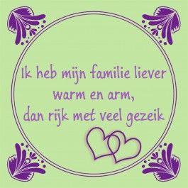Ik heb mijn familie