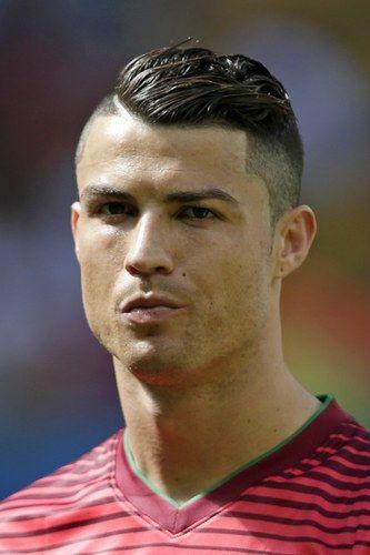 Los peinados más raros del Mundial: Cristiano Ronaldo