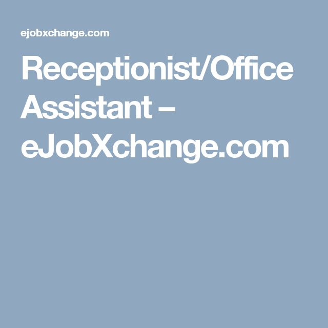 The 25+ best Empleos de recepcionista ideas on Pinterest Empleo - network assistant sample resume