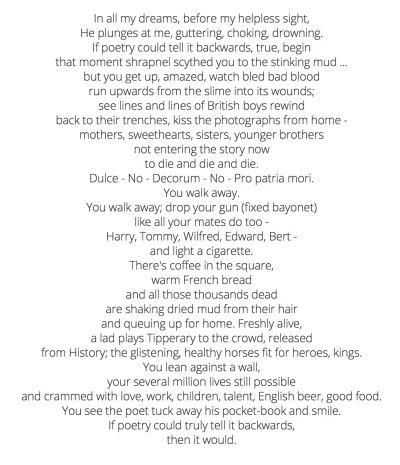Havisham Poem – Carol Ann Duffy