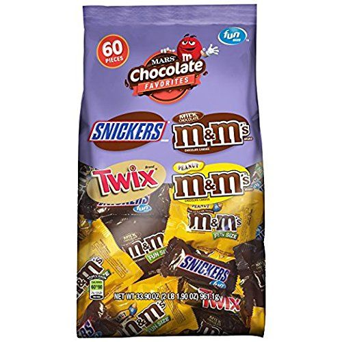 #MARS #Chocolate #Fun #Size #Variety #Mix #Bag Contains one (1) 33.9-ounce, 60-piece #bag of #Fun #Size M&M'S Milk #Chocolate Candy, Peanut M&M'S Candy, TWIX Candy and SNICKERS #Chocolate Bars that can be conveniently delivered to your home Put a little #fun in your day with a #fun #size bar of #MARS #Chocolate This 60-piece #bag is filled with individually wrapped chocolates and coated candy pieces that everyone will enjoy https://homeandgarden.boutiquecloset.com/product/mar