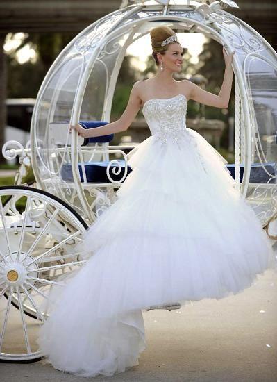 Cinderella Themed Wedding Dresses : Best images about disney wedding on