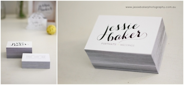 Business Cards » Jessie Baker Photography