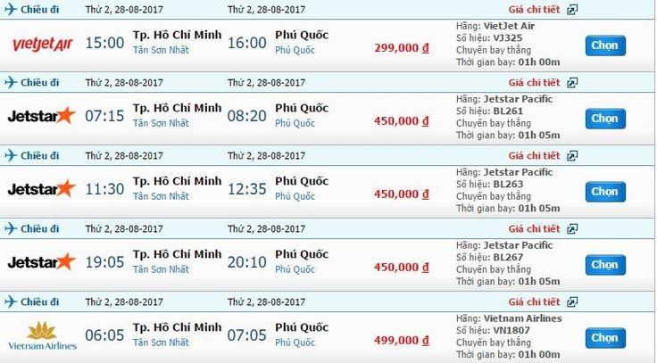 Tin mới nhất về vé máy bay Rạch Giá đi Phú Quốc