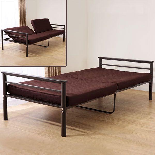 パイプ・折りたたみベッド | ニトリ公式通販 家具・インテリア・生活 ... 幅広ソファに変身するソファパイプベッド(トリニティー BR)