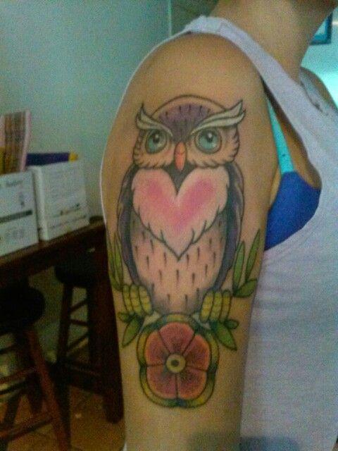 Colourful hoot hoot