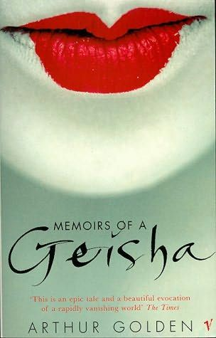 Memoirs of a Geisha is a novel by American author Arthur Golden, published in 1997. The novel, told in first person perspective, tells the fictional story of a geisha working in Kyoto, Japan, before and after World War II. It contains many Japanese terms for aspects of the geisha culture, occasionally using the Kyoto counterparts.