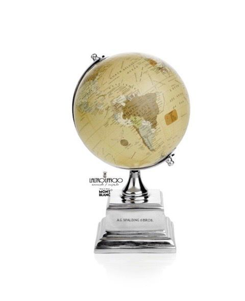 GLOBE  VINTAGE ALLUMINIUM sc10% A.G.SPALDING & BROS MAPPAMONDO 862794U828