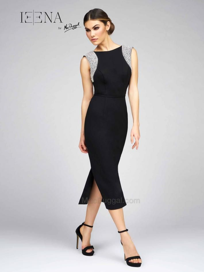 Black maxi dress for interview