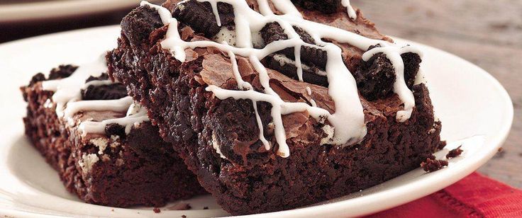 "Chocolate lovers, take note.  This triple-chocolate brownie recipe is a must for your ""favorites file."""