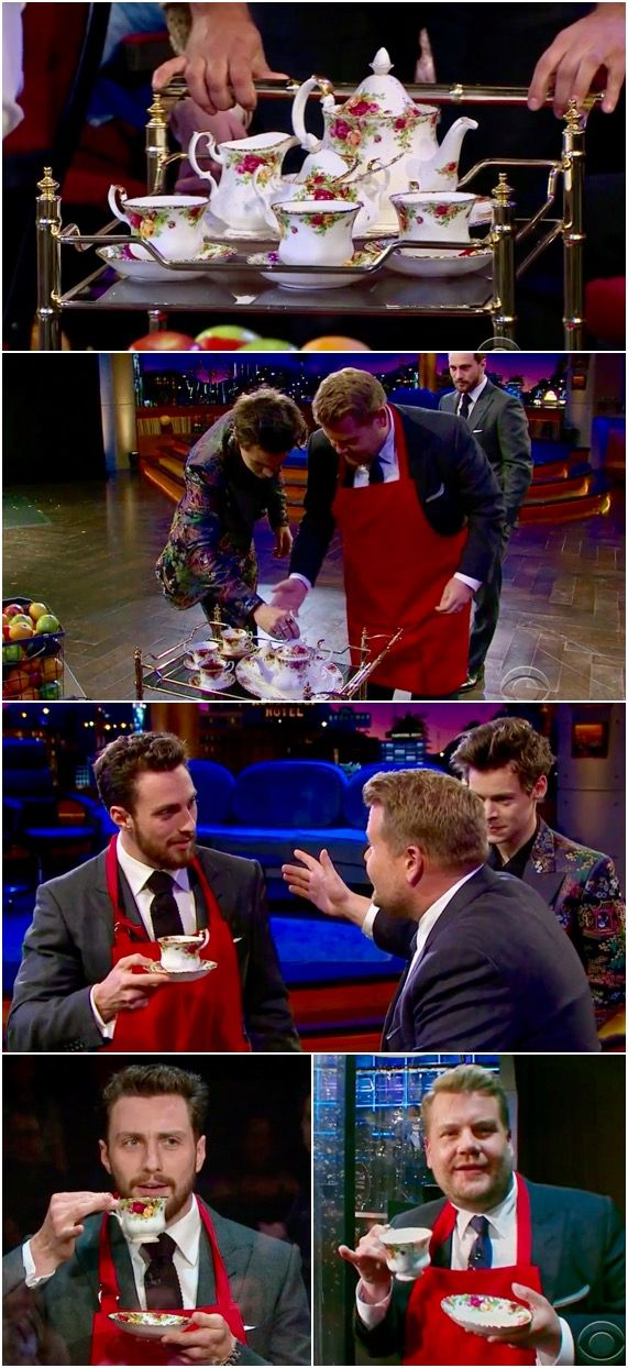 Royal Doulton's OLD COUNTRY ROSES! OCR as featured in the Flinch Segment of The Late Late Show with James Corden. Guests were fellow Englishmen Harry Styles and Aaron Taylor Johnson. Watch it here! Follow rickysturn/fine-china