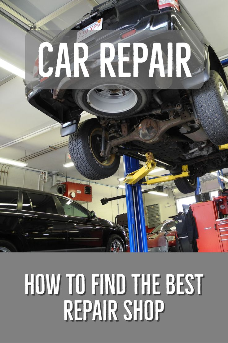 Car Repair How to Find the