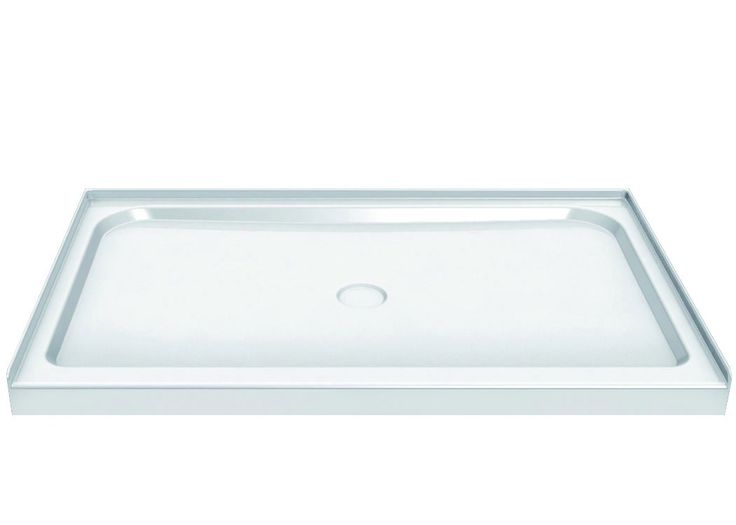 Best Price To Buy Maax X X Rectangular Single Threshold Center Drain  Acrylic Shower Base Online From Our Exotic Home Expo Website.