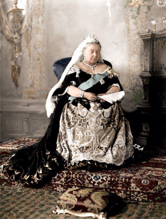 Queen Victoria, 1896, when taken my grandfather would have been 10 years old in Edmonton Poorhouse Orphanage.