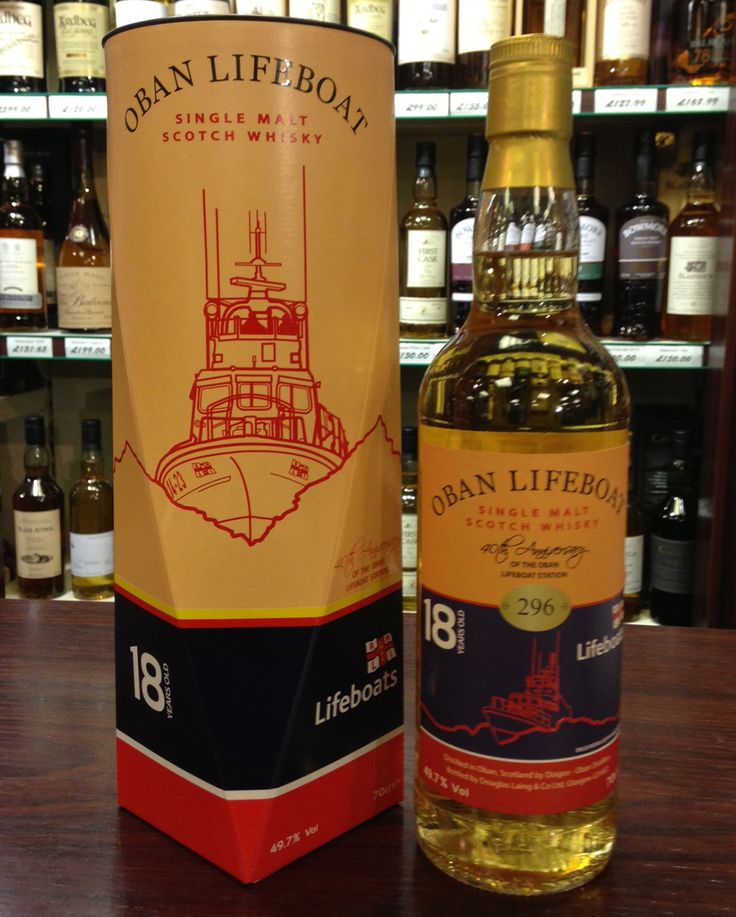 oban whisky - Lifeboat