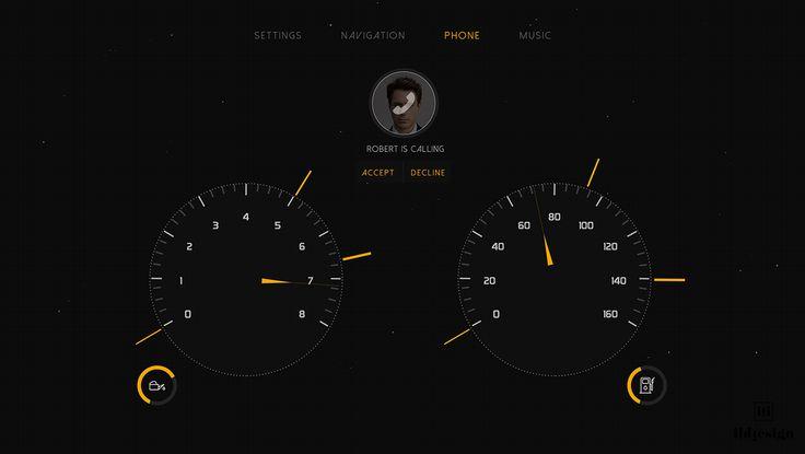 Car Interface design
