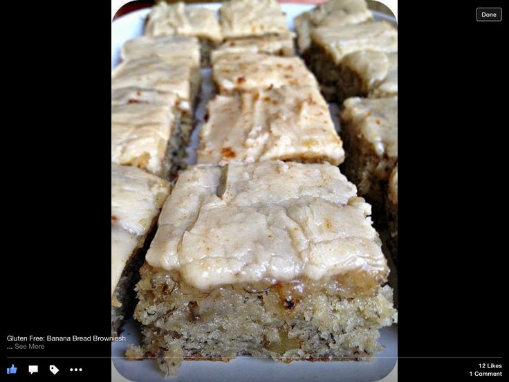gluten free banana bread brownies from pampered chef recipes on facebook ingredients banana. Black Bedroom Furniture Sets. Home Design Ideas