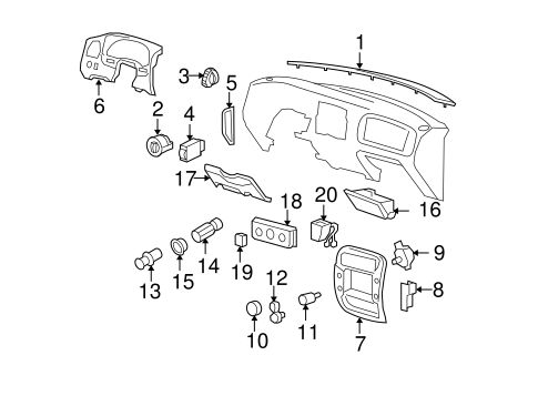 ELECTRICAL/AIR BAG COMPONENTS for 2009 Ford Ranger #1