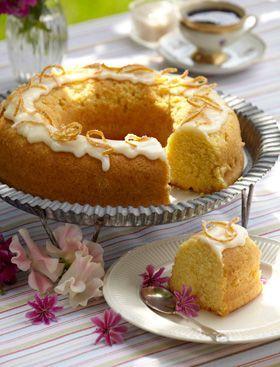 Appelsinsandkage Den skønneste appelsinsandkage til kaffebordet