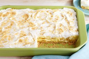 Savannah Banana Pudding recipe - Our Savannah Banana Pudding gets its creamy deliciousness from PHILADELPHIA Cream Cheese, JELL-O Vanilla Flavor Instant Pudding and a COOL WHIP topping.