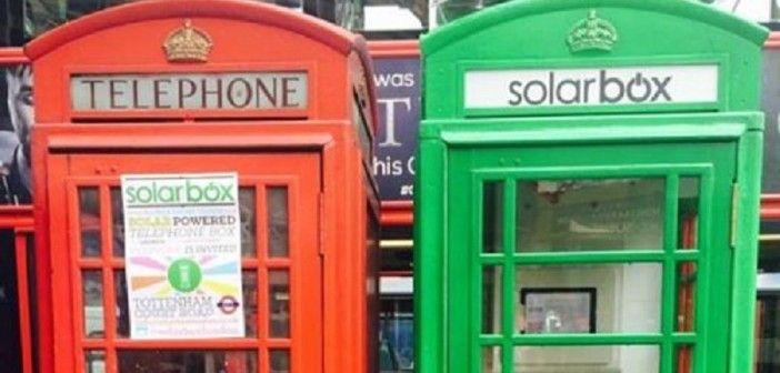 İngiltere'nin sembolü renk değiştirdi! Yıllardır Londra'nın simgesi olan kırmızı telefon kulübeleri yeşile boyanıyor. İşlevini kaybeden kırmızı kulübeler yeşil olmakla kalmayıp, güneş enerjisi ile çalışan telefon şarj istasyonları haline geliyor... #yeşilgelecek #yeşilekonomi http://bit.ly/1preVmz