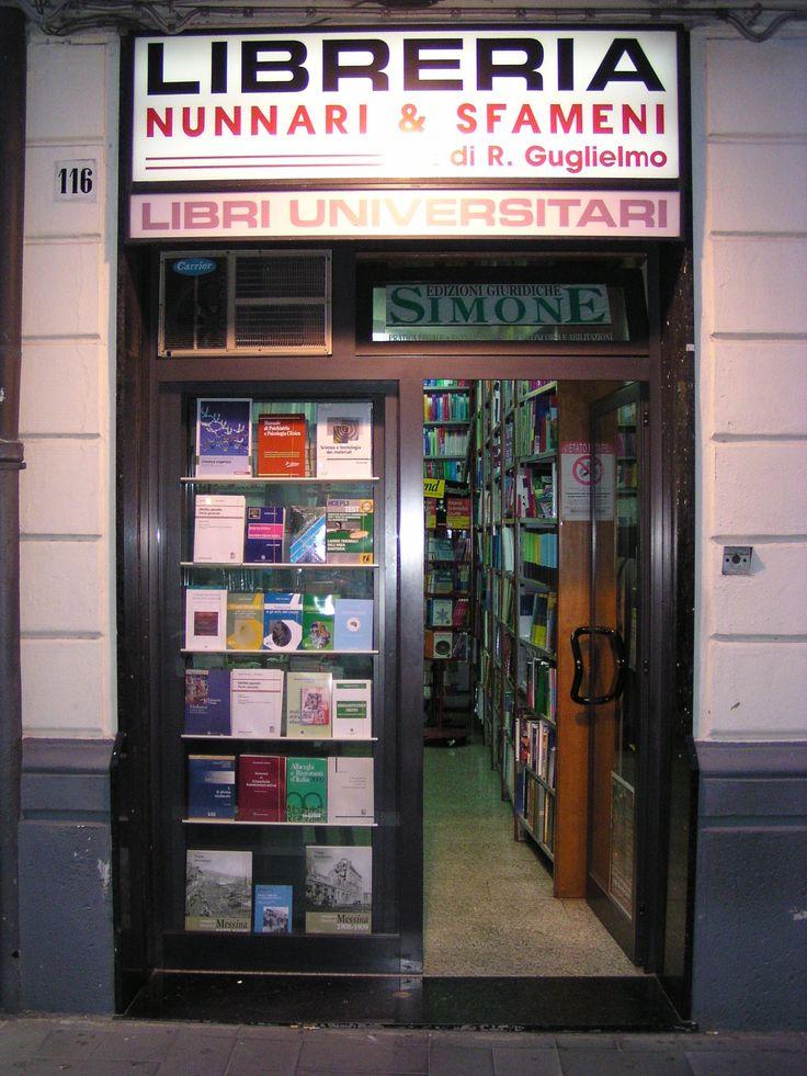 Dal lontano 1932 la Libreria Nunnari e Sfameni è presente a Messina nella storica sede di Via Cannizzaro al centro della città, a due Rsa 050-seproauth-02 passi dall'Università centrale e dal tribunale  Nel 1995 è stato aperto un altro punto vendita in via Ghibellina, specializzato per i testi scolastici.  www.librerianunnari.it