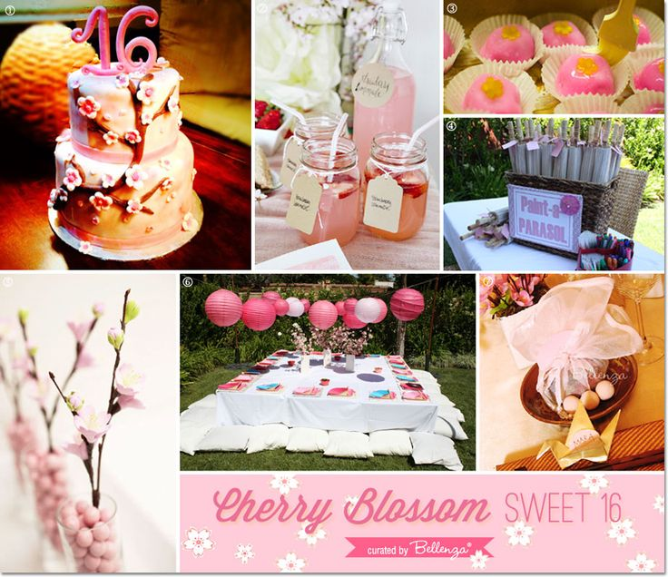 Backyard Sweet 16 Party Ideas luau party ideas hawaiian party decor and food celebrate a birthday anniversary Host A Cherry Blossom Sweet 16 Party In Your Backyard