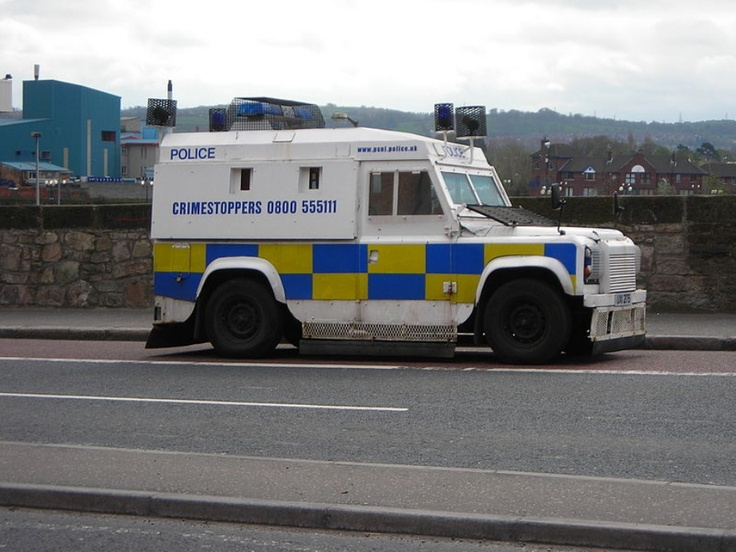 NORTHERN IRELAND POLICE SERVICE- Police cars