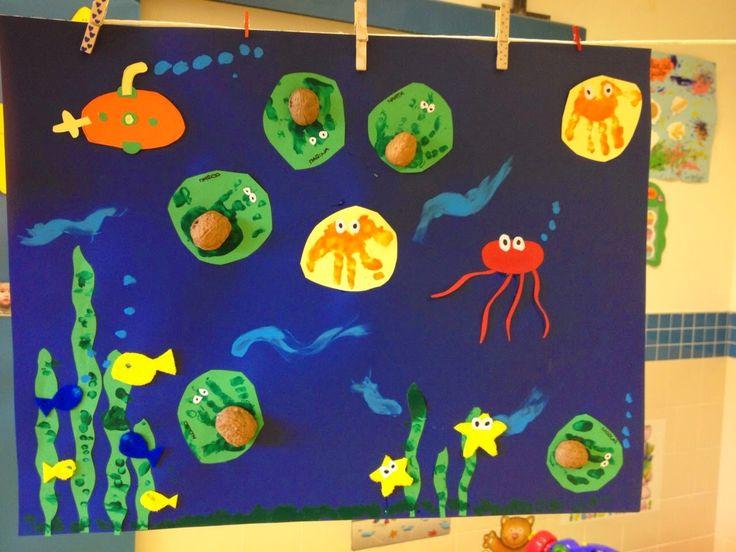 escuela infantil mural verano pinterest murals