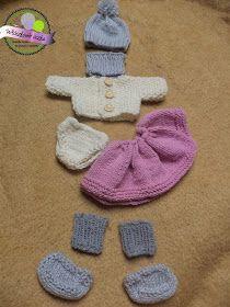 Ubranka dla lalki  Clothes for doll