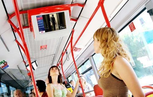 """E' la """"Moving TV"""" pensata per gli utenti del trasporto pubblico locale rendendo più piacevole l'esperienza di viaggio.  http://www.ammandmore.com/"""