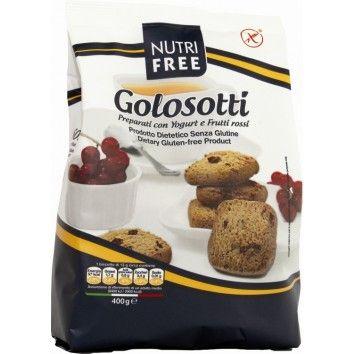 Μπισκότα με Γιαούρτι και Κόκκινα Φρούτα 400gr Nutri Free