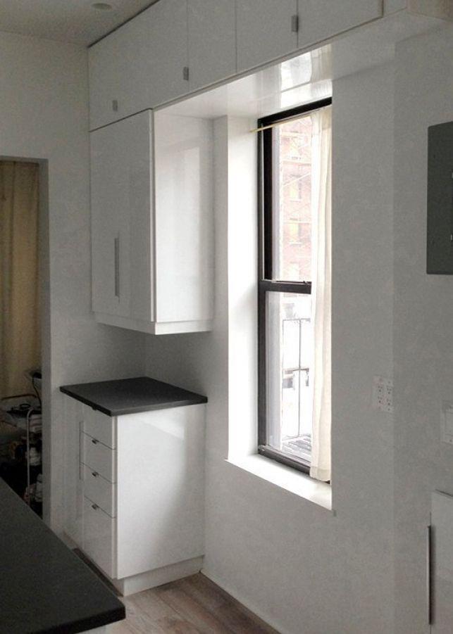 Renovarea unei bucatarii mici - foto inainte si dupa- Inspiratie in amenajarea casei - www.povesteacasei.ro