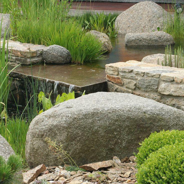 vodní prvek z kamene / water feature from stone