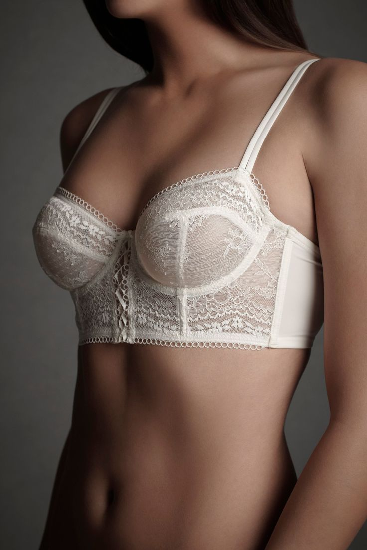 You can make a bra like this one using the Boylston bra sewing pattern by Orange Lingerie