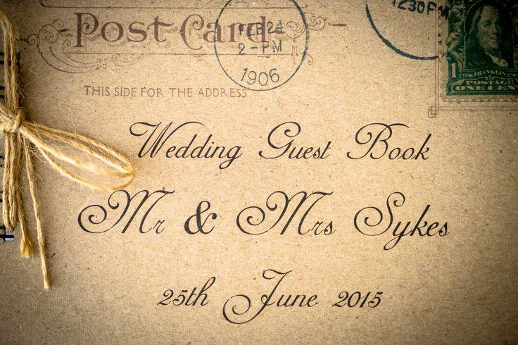 Choose this cover for your guest  book #weddingideas #weddingingreece #mythosweddings #kefalonia