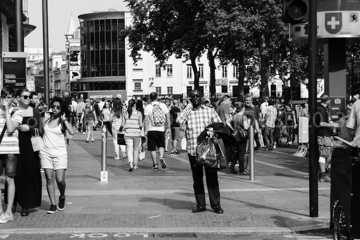 Rush Hour London the UNKNOWNS Experiment 1