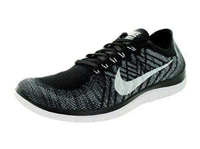 nike free 4.0 mens black and white wingtip shoes