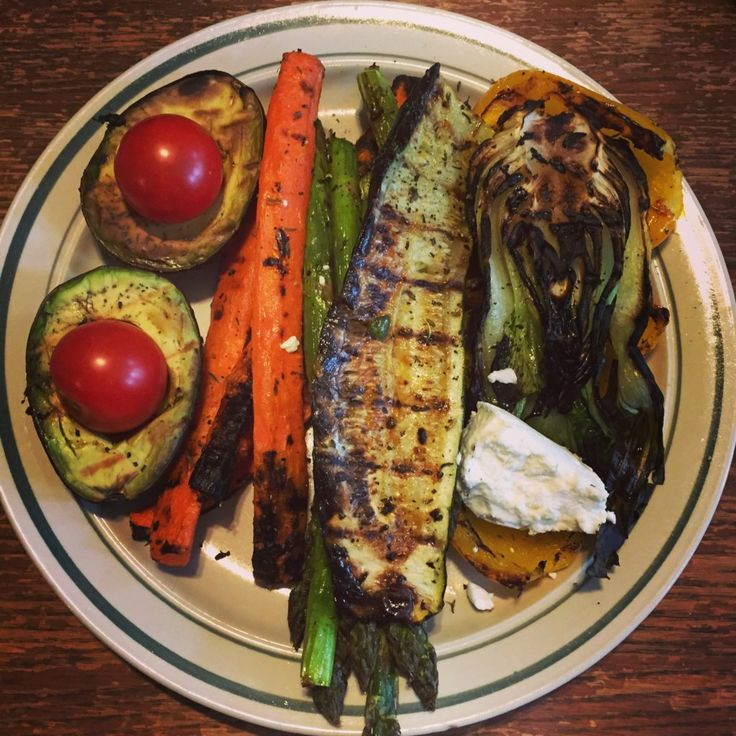 What to do with leftover grilled veggies :: The Herbivore Heroine