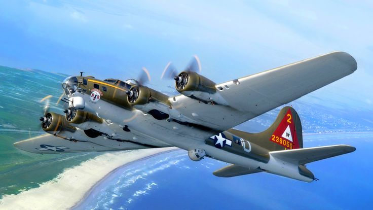 The Boeing B-17 Flying Fortress is a four-engine heavy bomber aircraft primarily employed by the United States Army Air Forces (USAAF) during World War II.