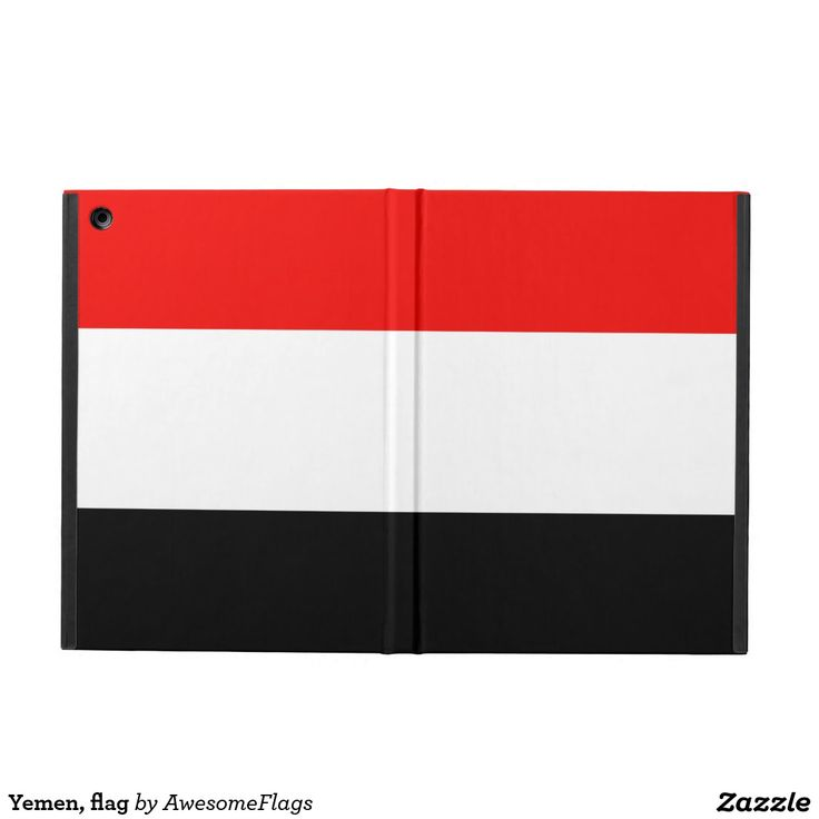 Yemen, flag case for iPad air
