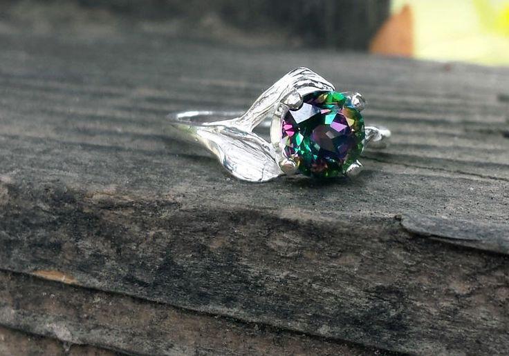 Mystic Topaz Ring - Jewelry creation by K. Lynn Designs
