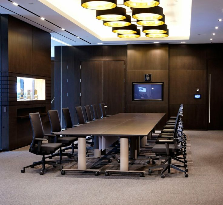 Manhattan Tables with Vertical Wire Managers | Spec Furniture